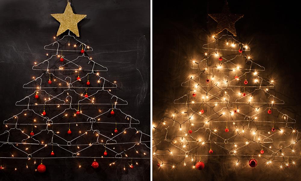 Space Saving Christmas Trees