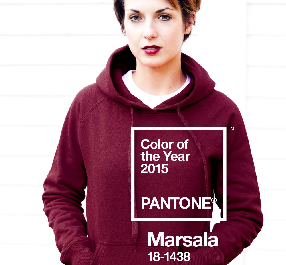 Marsala Trend color