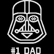 bonnet papa p re meilleur visage de masque de contour toile blanche respirer spreadshirt. Black Bedroom Furniture Sets. Home Design Ideas