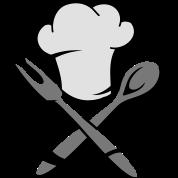 bavoir une toque de cuisinier avec une cuill re en bois et une fourchette spreadshirt. Black Bedroom Furniture Sets. Home Design Ideas