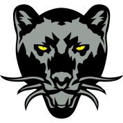panthere noir dessin animal sauvage logo