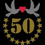 Tee shirt 50e anniversaire de mariage 50 ans cinquante for 50e anniversaire de mariage