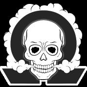 ☠ La Liste Noire : WANTED ☠ Vaping-skull-png